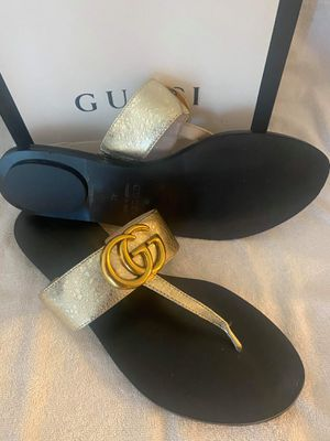New gucci women sandal size 9 10 11 for Sale in Hollywood, FL