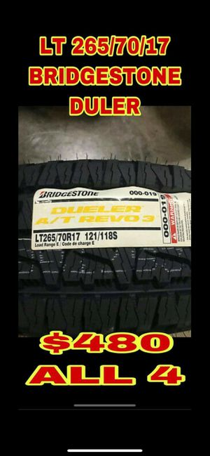 265 70 17 BRAND NEW SET OF TIRES for Sale in Mesa, AZ