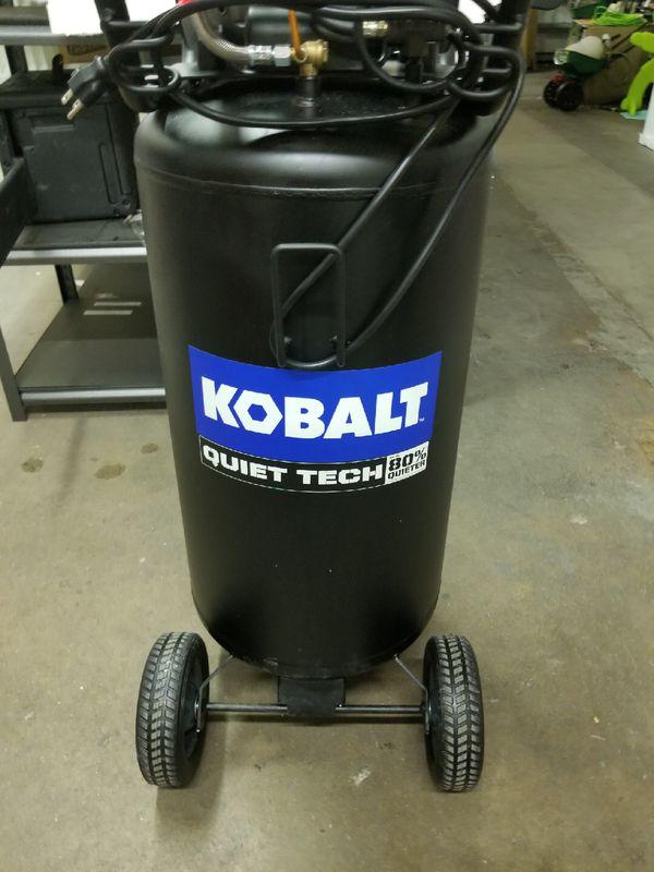 Kobalt Quiet Tech 26 Gallon Portable Electric Vertical