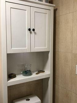 Bathroom Storage Shelf Unit - White for Sale in Brooklyn,  NY