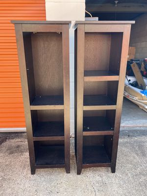 """63"""" L x 17 1/2"""" book shelves... for Sale in Houston, TX"""