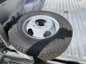 Chevy GMC 3500 dually spare wheel & tire LT 235 80 17 for Sale in Aurora, CO