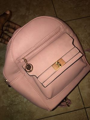 Mini Pink Leather Backpack for Sale in Long Beach, CA
