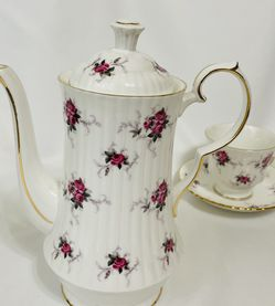 Princess House Bone China Teapot and Teacup from England for Sale in Spokane,  WA