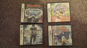 Nintendo Ds games for Sale in Charlotte, NC
