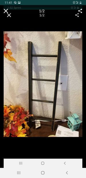 Farmhouse style home decor ladder 2ft x 8 inch for Sale in Arvada, CO
