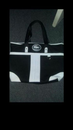 Lacoste tote bag for Sale in Silver Spring, MD