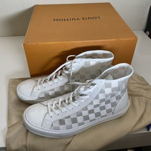 Louis Vuitton Tattoo Sneaker boot 1A7WA4, Authentic, Size 12 US for Sale in Buena Park, CA