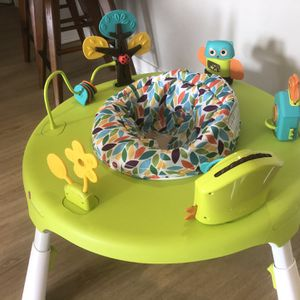 Oribel PortaPlay 4-in-1 Foldable Activity Center - Turn, Bounce, Play, Transform - Forest Friends for Sale in Chelsea, MA