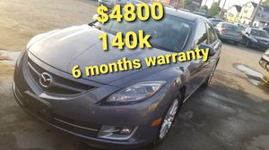2009 Mazda 6 runs and drives excellent only 140k 6 months warranty for Sale in Salem, MA