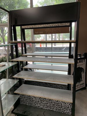 Glass and wooden shelves for Sale in Atlanta, GA