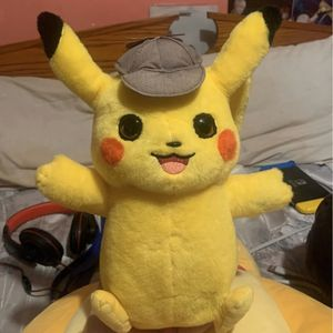 Detective Pikachu Talking Plush TESTED for Sale in Midland, VA