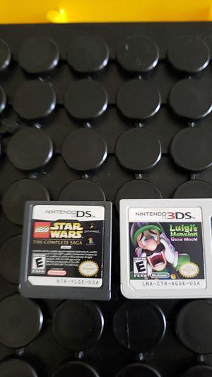 Luigis Mansion Dark Moon and Star Wars $15 each for Sale in Vista, CA