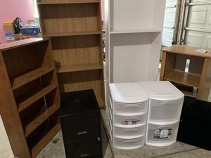 Multiple shelving and storage unit for Sale in Sterling Heights, MI