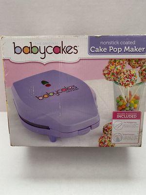 Babycakes cake pop maker for Sale in McDonald, PA