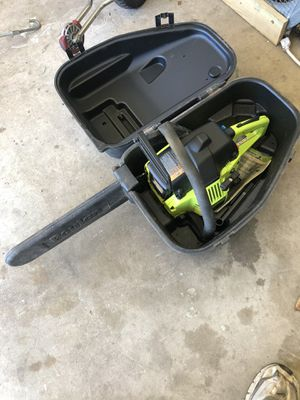 Poulan chainsaw for Sale in Choctaw, OK