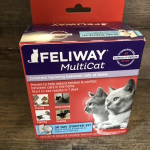 Feliway Multicat Starter Kit Plug-in Diffuser And Refill for Sale in City of Industry, CA