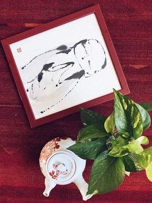Art Print in Frame, Ink on Paper, Wall Art for Sale in San Diego, CA