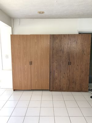 2 Large Stand-up Wardrobes for Sale in Fort Pierce, FL