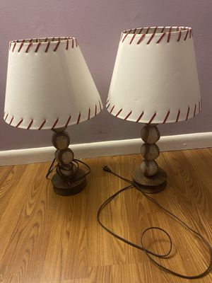 Vintage baseball lamps for Sale in Clifton, NJ