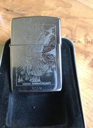 Zippo 200th Anniversary American Eagle lighter collectible for Sale in Zephyrhills, FL