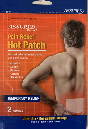 Assured Pain Relief Hot Patch for Sale in Levittown, PA
