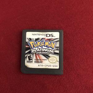 Authentic Pokémon Platinum Nintendo DS for Sale in Pompano Beach, FL