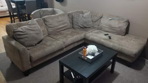 Sofa plus coffee table for Sale in Queens, NY