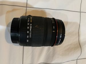 Sigma 18-200mm f/3.5-6.3 DC camera lens excellent condition for Sale in West Los Angeles, CA
