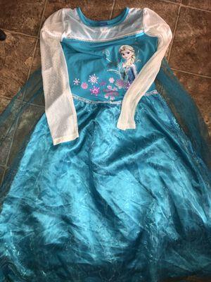 Elsa Frozen Costume Dress Size XL Halloween for Sale in La Vergne, TN