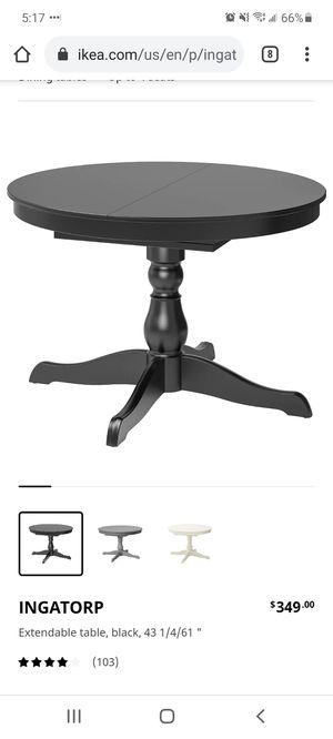 Ikea INGATORP table for Sale in Kent, WA
