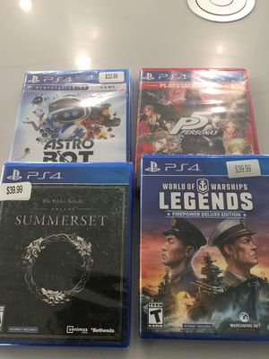 PS4 brand new games and XBOX ONE games for Sale in Gulfport, MS