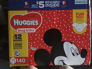 Huggies Snug & Dry Diapers Size Newborn 140Ct for Sale in Baltimore, MD