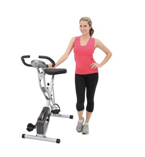 Exerpuetic magnetic upright exercise bike with heart pulse sensors for Sale in Austin, TX