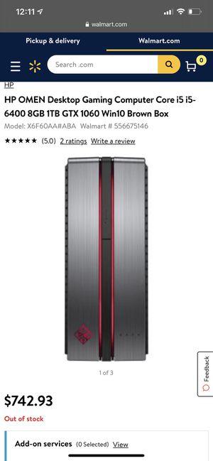 HP Omen GAMING computer for Sale in McLean, VA