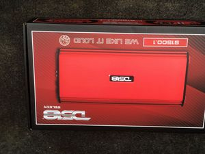 DS18 1500.1 amp new for Sale in Cape Girardeau, MO