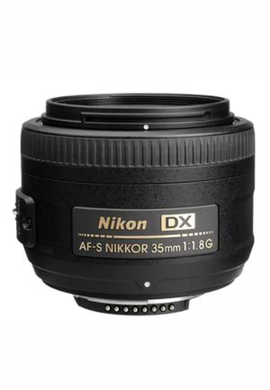 Nikon 35mm and 18-55mm for Sale in New York, NY
