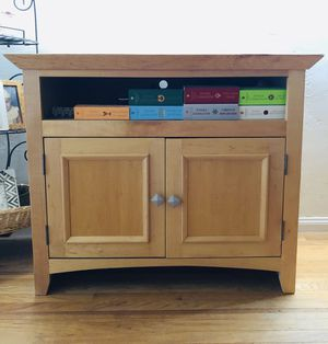 Real wood TV stand/cabinet for Sale in San Diego, CA