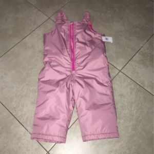 Old Navy Toddler Girl's Water Resistant Pink Snow Pants, Size 18-24 Months for Sale in San Diego, CA