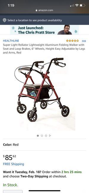 Super Light Rollator Lightweight for Sale in Bakersfield, CA