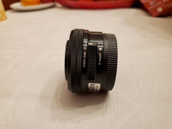 Sony A6500 Camera with 2 Zoom Lenses & 5 Batteries
