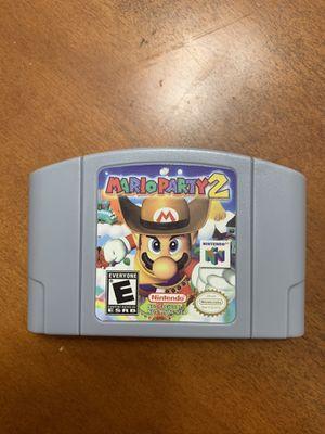 Mario Party 2 Nintendo 64 for Sale in Miami Lakes, FL