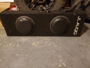 "JL audio 2-8"" subwoofers and JL audio 4 channel amp for Sale in Phoenix, AZ"