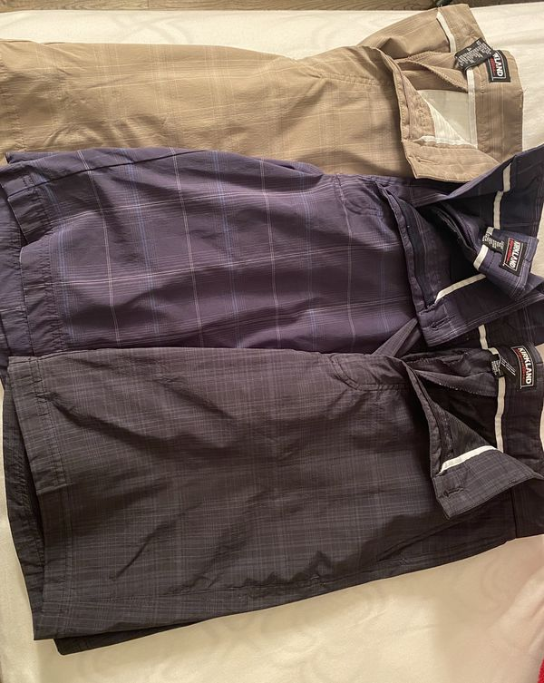Golfing shorts - Size 32 - KIRKLAND brand. $5 EACH.