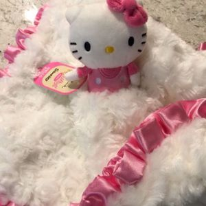 Hello Kitty Plush So Soft Baby Security Blanket for Sale in Orange, CA