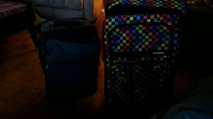 Suitcases gray one millenia 25 pink one yak pak 20 for Sale for sale  Moody, AL