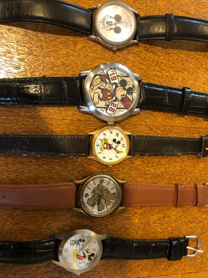 Walt Disney Mickey Mouse Personal Vintage Watch Collection for Sale in Phillips Ranch, CA