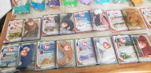 Rare Beanie babies still in the original packaging let me know which one or ones that you're interested in for Sale in Columbus, OH