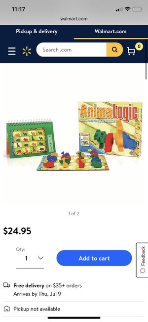 Animalogic puzzle game for Sale in Santa Fe Springs, CA