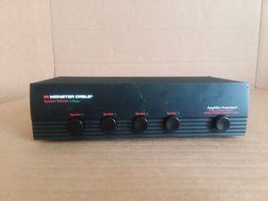 Monster Cable ss4multi-speaker Selector for Sale in Hyattsville, MD
